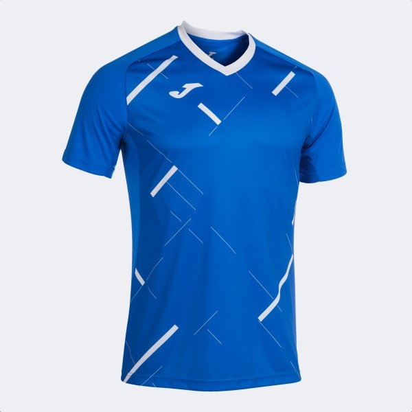 JOMA TIGER III SHORT SLEEVE T-SHIRT ROYAL WHITE