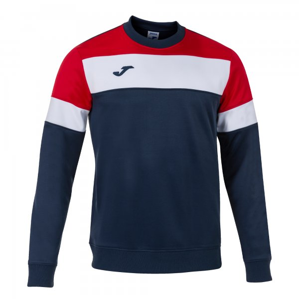 JOMA CREW IV SWEATSHIRT DARK NAVY-RED