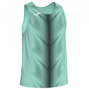 JOMA OLIMPIA T-SHIRT GREEN-BLACK SLEEVELESS