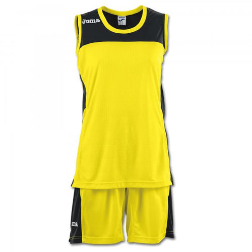 JOMA SET SPACE II WOMAN YELLOW SLEEVELESS