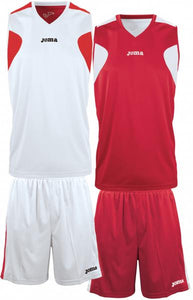JOMA SET BASKET REVERSIBLE WHITE-RED