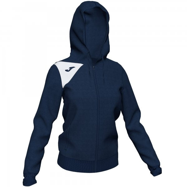 JOMA HOODED JACKET SPIKE II WOMAN DARK NAVY-WHITE