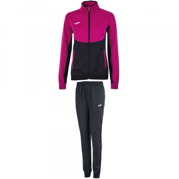 JOMA TRACKSUIT ESSENTIAL MICRO BLACK-PINK WOMAN