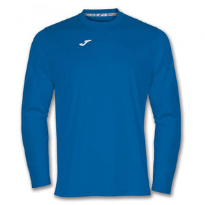 JOMA LONG SLEEVE SHIRT WITH ROUNDED COLLAR. WITH DRY MX, A TECHNOLOGY CAPABLE OF CONTROLLING THE SPORTSPERSON'S PERSPIRATION.