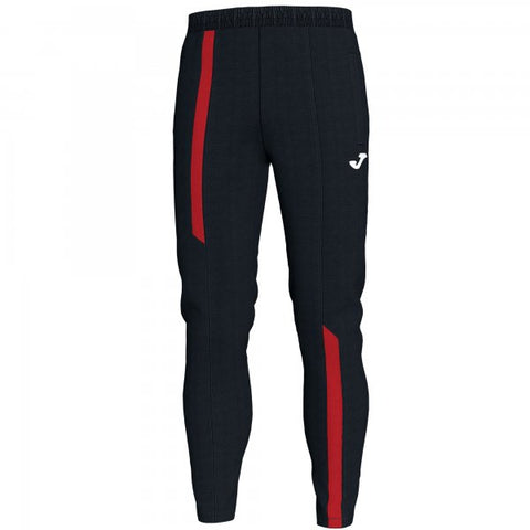 JOMA LONG PANT CAMPUS III BLACK-RED