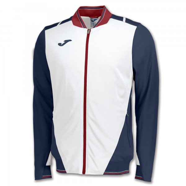 JOMA JACKET GRANADA WHITE-NAVY