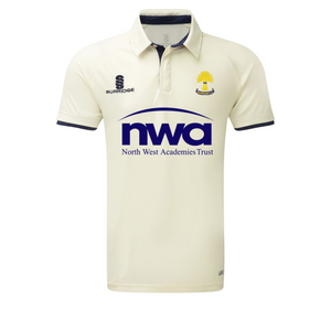 Barrow Cricket Club -Adult Playing Short Sleeve Shirt