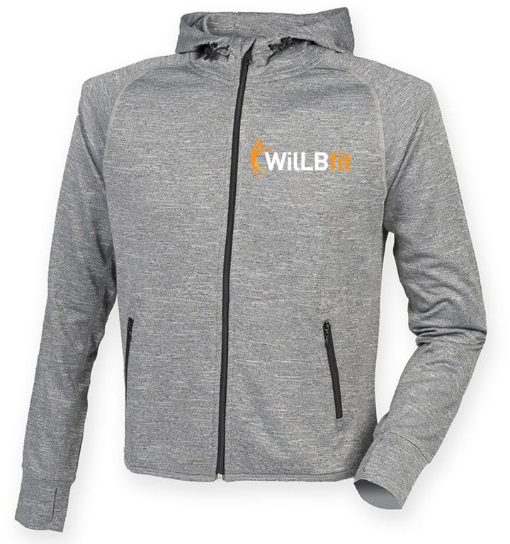 WilLBFit Slim Fit Lightweight Hoodie