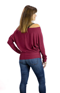Burgundy Nursing T-Shawl ™