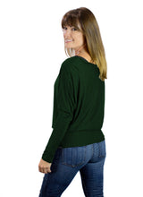 Load image into Gallery viewer, Hunter Green Nursing T-Shawl ™