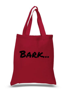 Bark...  - tote bag