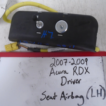 Load image into Gallery viewer, 2007 - 2009 Acura RDX Driver Seat Airbag (LEFT)