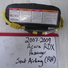 Load image into Gallery viewer, 2007 - 2009 Acura RDX Passenger Seat Airbag (RIGHT)