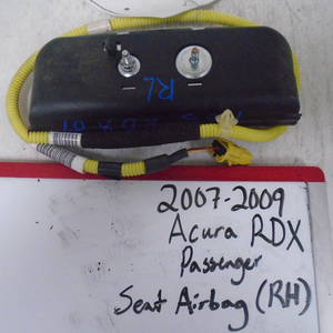 2007 - 2009 Acura RDX Passenger Seat Airbag (RIGHT)
