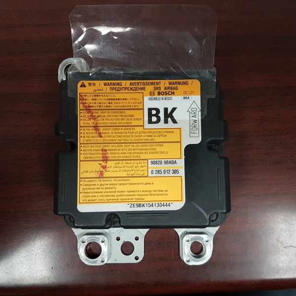 Nissan Frontier Airbag Control Module 98820 9BK0A