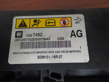 Load image into Gallery viewer, Chevrolet Cruze Airbag Control Module 13587452