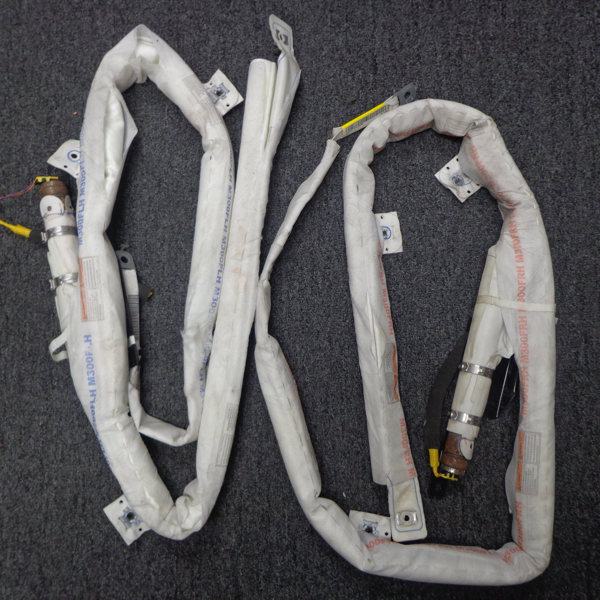 2011 Chevrolet Spark Driver and Passenger Curtain Airbags