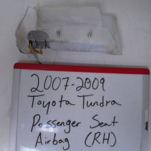 Load image into Gallery viewer, 2007 - 2009 Toyota Tundra Passenger Seat Airbag (RIGHT)