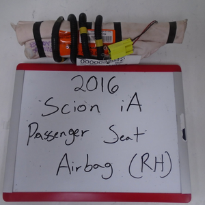 2016 Scion iA Passenger Seat Airbag (Right)