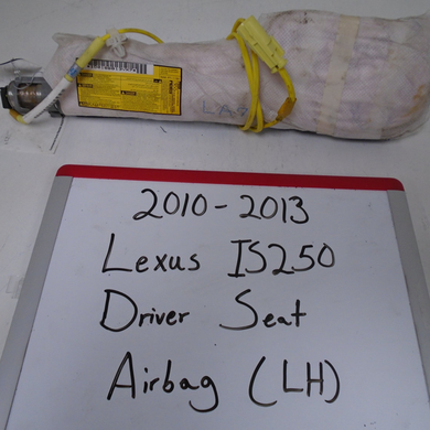 2010-2013 Lexus IS250 Driver Seat Airbag (Left)