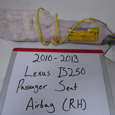 2010-2013 Lexus IS250 Passenger Seat Airbag (Right)