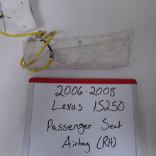 Load image into Gallery viewer, 2006-2008 Lexus IS250 Passenger Seat Airbag (RIGHT)