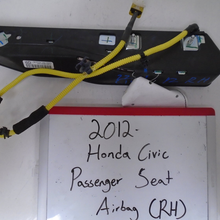 Load image into Gallery viewer, 2012 Honda Civic Passenger Seat Airbag (RIGHT)