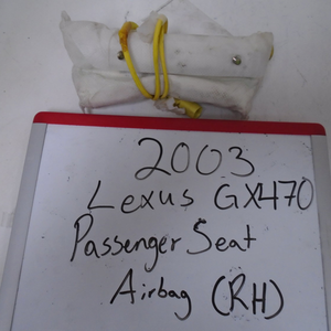 2003 Lexus GX470 Passenger Seat Airbag (Right)