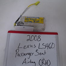 Load image into Gallery viewer, 2008 Lexus LS460 Passenger Seat Airbag (RIGHT)