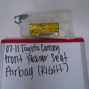 2007-2011 Toyota Camry Front Passenger Seat Airbag (RIGHT)