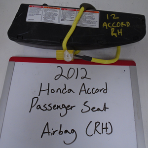 2011-2012 Honda Accord Passenger Seat Airbag (RIGHT)