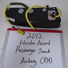Load image into Gallery viewer, 2011-2012 Honda Accord Passenger Seat Airbag (RIGHT)