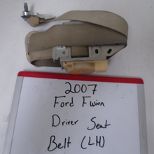 Load image into Gallery viewer, 2007 Ford Fusion Driver Seat Belt (LEFT)