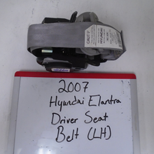 Load image into Gallery viewer, 2007 Hyundai Elantra Driver Seat Belt (LEFT)
