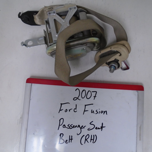 2007 Ford Fusion Passenger Seat Belt (RIGHT)