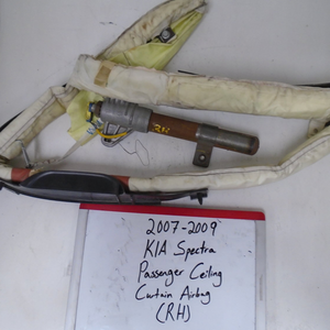 2007 - 2009 KIA Spectra Passenger Curtain Airbag (RIGHT)