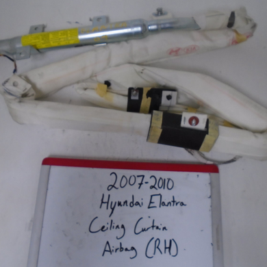 2007 - 2010 Hyundai Elantra Curtain Airbag (RIGHT)