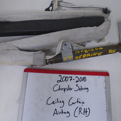 2007 - 2010 Chrysler Sebring Curtain Airbag (RIGHT)