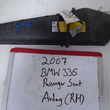 Load image into Gallery viewer, 2007 BMW 335 Passenger Seat Airbag (RIGHT)