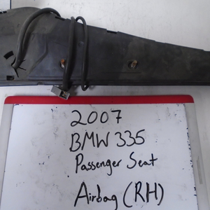 2007 BMW 335 Passenger Seat Airbag (RIGHT)