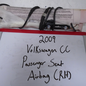 2009-2017 Volkswagen CC Passenger Seat Airbag (RIGHT)