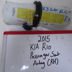 2015 KIA Rio Passenger Seat Airbag (RIGHT)