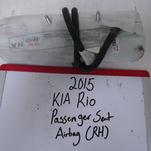 Load image into Gallery viewer, 2015 KIA Rio Passenger Seat Airbag (RIGHT)