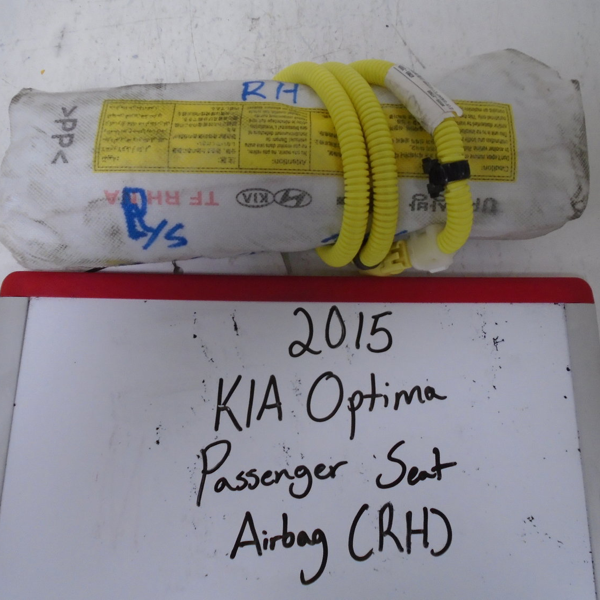 2015 KIA Optima Passenger Seat Airbag (RIGHT)