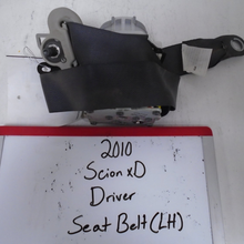 Load image into Gallery viewer, 2010 Scion xD Driver Seat Belt (Left)