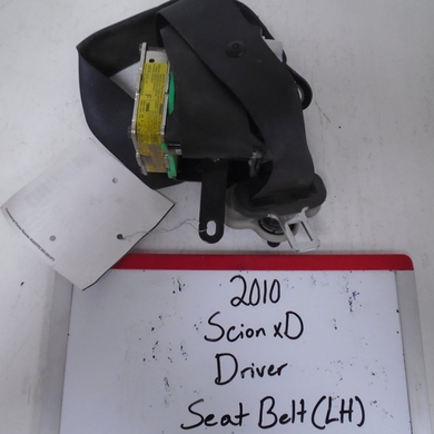 2010 Scion xD Driver Seat Belt (Left)