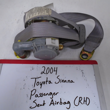 Load image into Gallery viewer, 2004 Toyota Sienna Passenger Seat Belt (RIGHT)