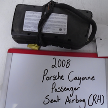Load image into Gallery viewer, 2008 Porsche Cayenne Passenger Seat Airbag (RIGHT)