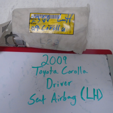Load image into Gallery viewer, 2009-2013 Toyota Corolla Driver Seat Airbag (LEFT)