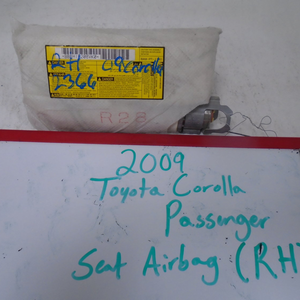 2009-2013 Toyota Corolla Passenger Seat Airbag (RIGHT)